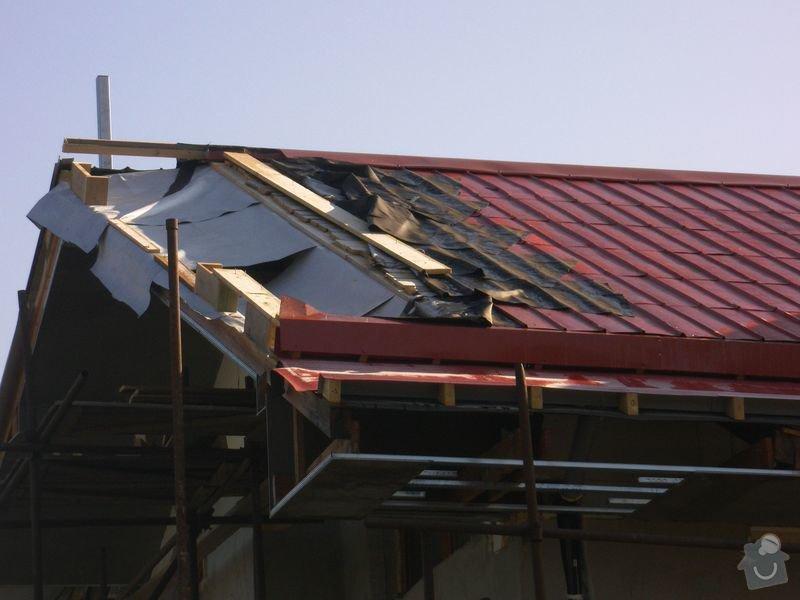 Střecha Alukryt 100 m2 !! SPĚCHÁ !!: Napnuta_kontaktni_folie_1