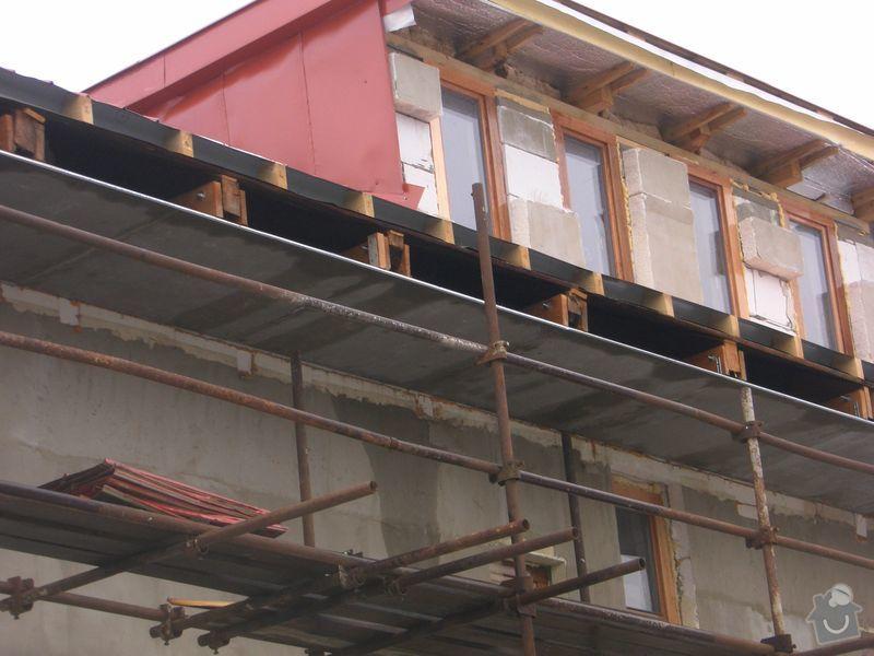 Střecha Alukryt 100 m2 !! SPĚCHÁ !!: Pod_hotovou_strechou_2