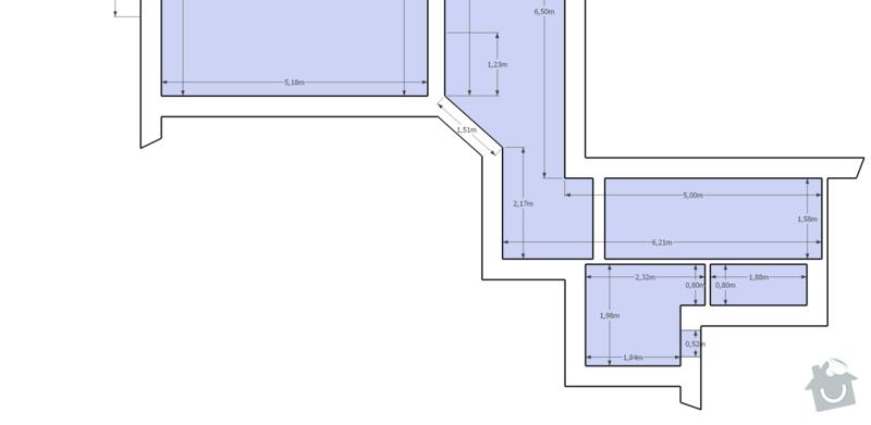 Kompletní rekonstrukce bytu 1+1, 61m2: Karlin_detail_bathroom