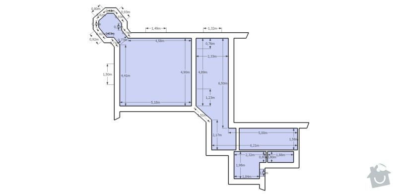 Kompletní rekonstrukce bytu 1+1, 61m2: Karlin_overview