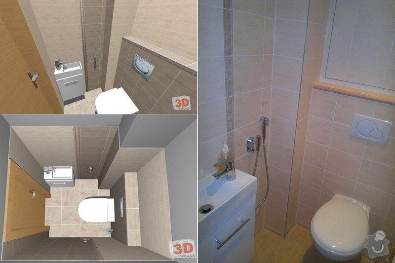 Rekonstrukce bytového jádra: Komfortni-jadro-wc