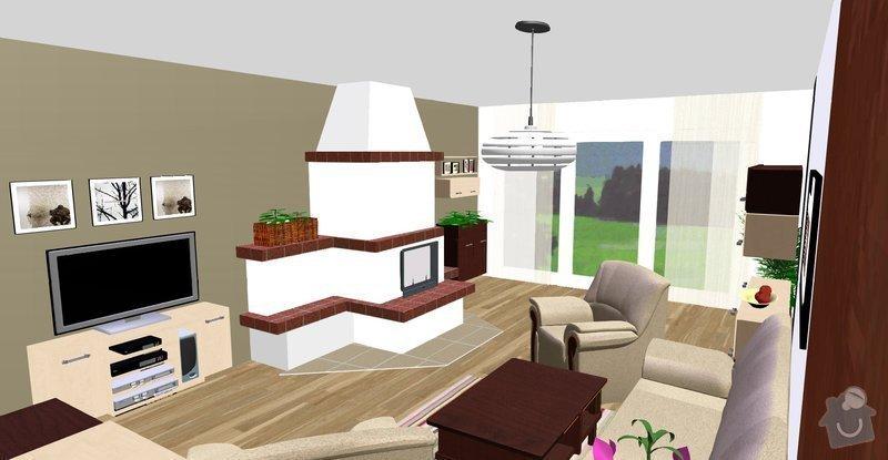 Návrh a vizualizace interiéru RD: Vicenikova_nove_barva_a_svetla_skrinka