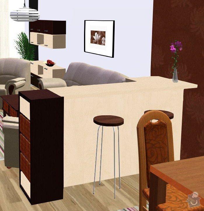 Návrh a vizualizace interiéru RD: Vicenikova_nove_barva_z_kuchyne
