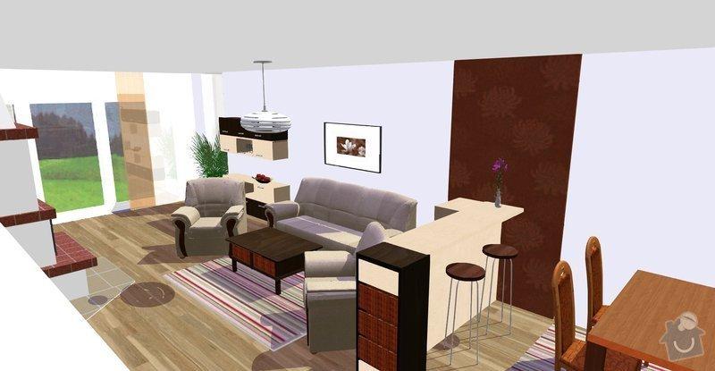 Návrh a vizualizace interiéru RD: Vicenikova_nove_celkove