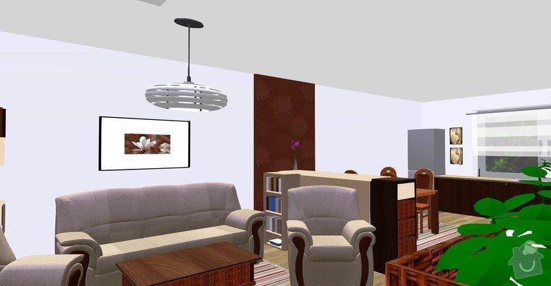 Návrh a vizualizace interiéru RD: 2n5h6vna