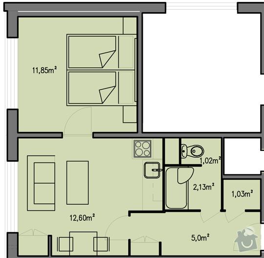Rekonstrukce bytoveho jadra: pudorys-1plus1_540