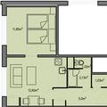 Rekonstrukce bytoveho jadra pudorys 1plus1 540