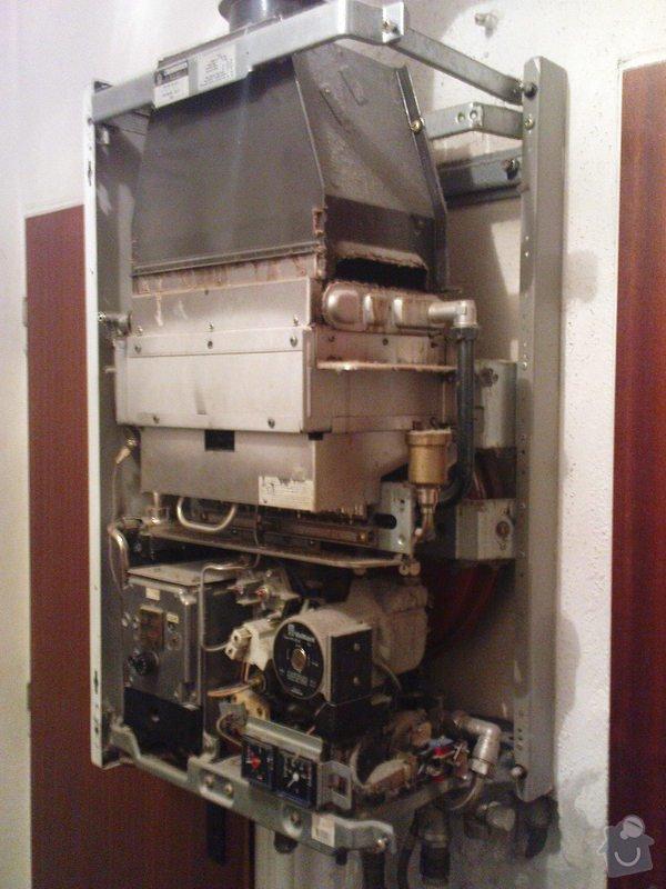 Servis kotle Vaillant a oprava ohřevu TUV a ÚT: DSC00585