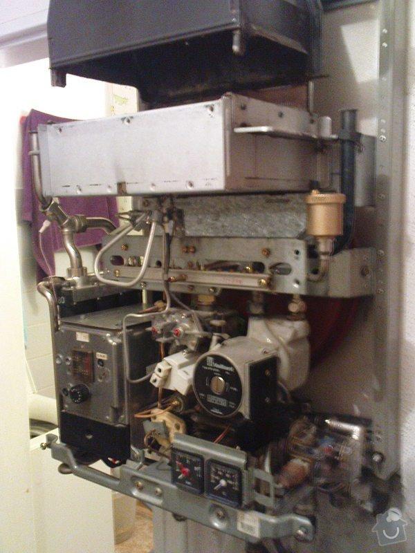 Servis kotle Vaillant a oprava ohřevu TUV a ÚT: DSC00588