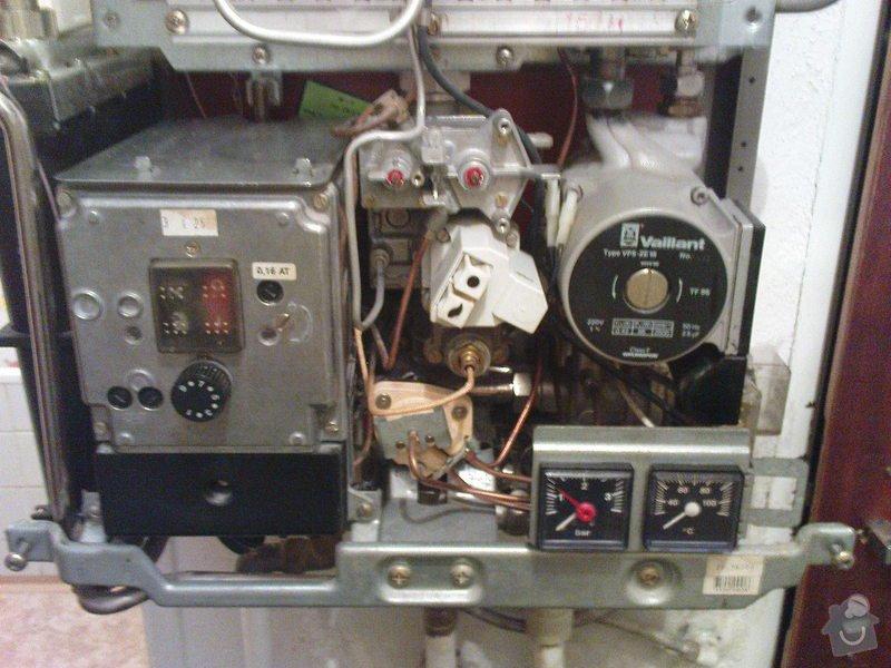 Servis kotle Vaillant a oprava ohřevu TUV a ÚT: DSC00589