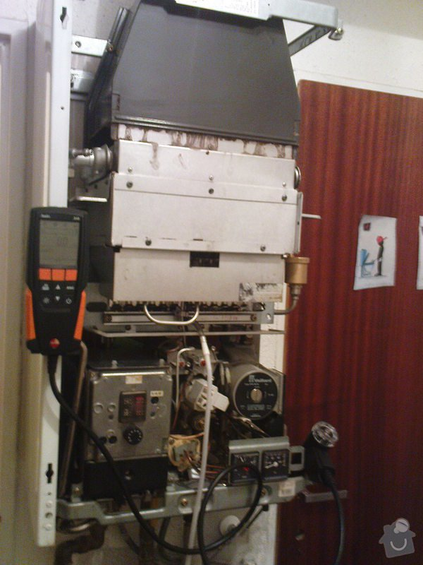 Servis kotle Vaillant a oprava ohřevu TUV a ÚT: DSC00592