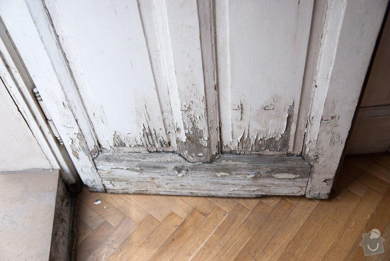Oprava špaletových oken: Dvere_obyvak2