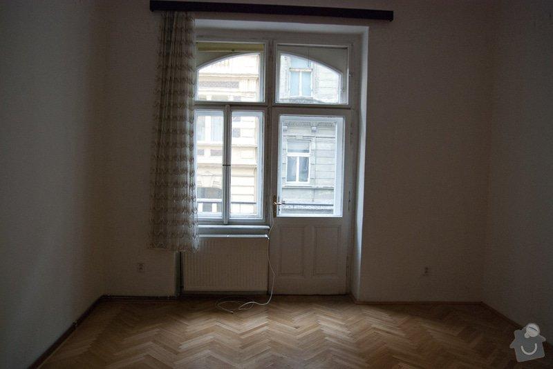 Oprava špaletových oken: Okno_obyvak