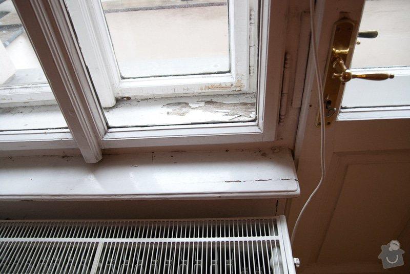 Oprava špaletových oken: Okno_obyvak_detail1