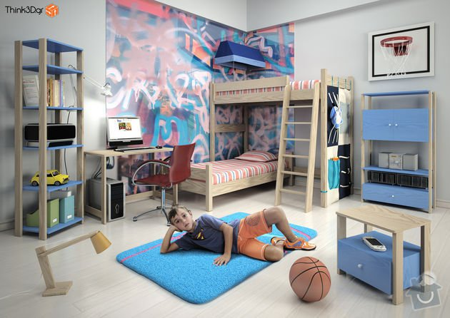 Vyroba detske palandy: detska-izba-12069067