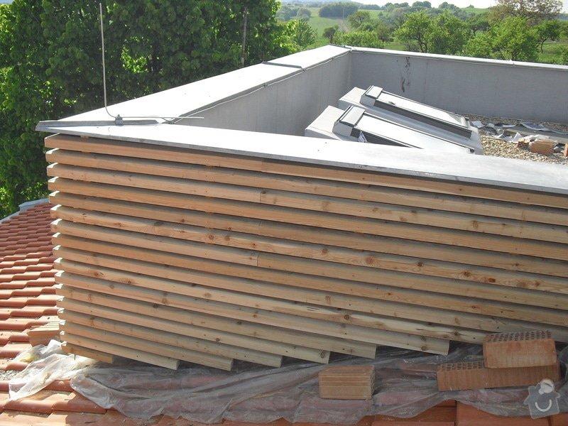 Dřevěná fasáda: CIMG0207