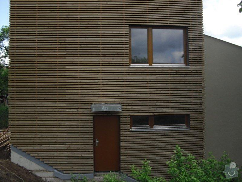 Dřevěná fasáda: CIMG0253