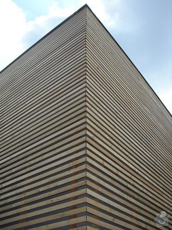 Dřevěná fasáda: CIMG0265
