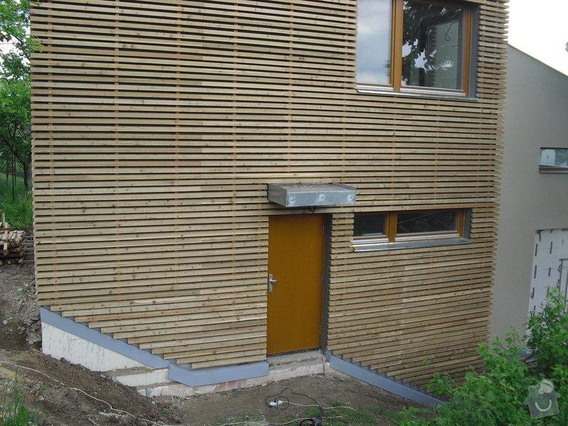 Dřevěná fasáda: CIMG0260
