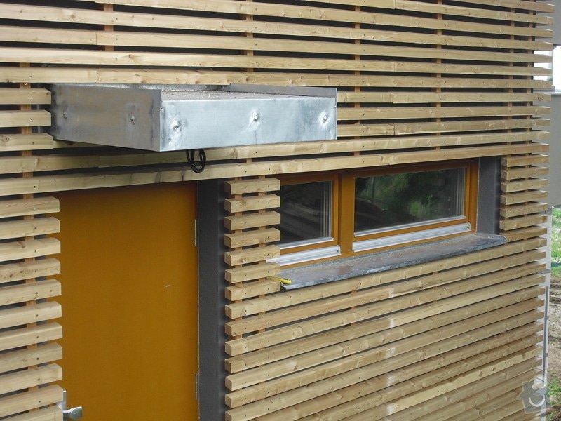 Dřevěná fasáda: CIMG0261