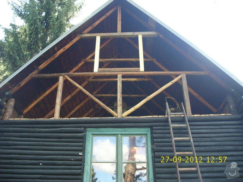 Rekonstrukce chaty v lesní osadě: IMG_0011
