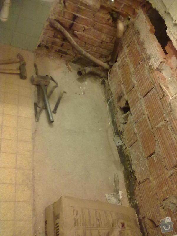Rekonstrukce koupelny: 1