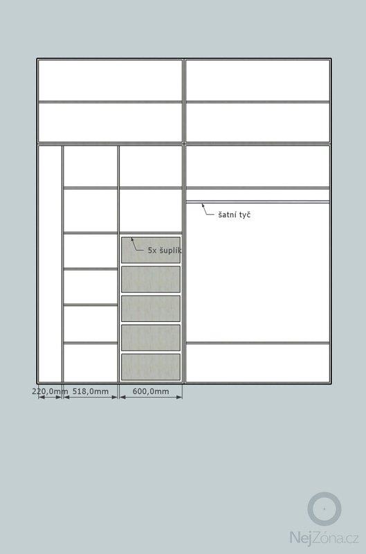 Vestavěná skříň: skrin2