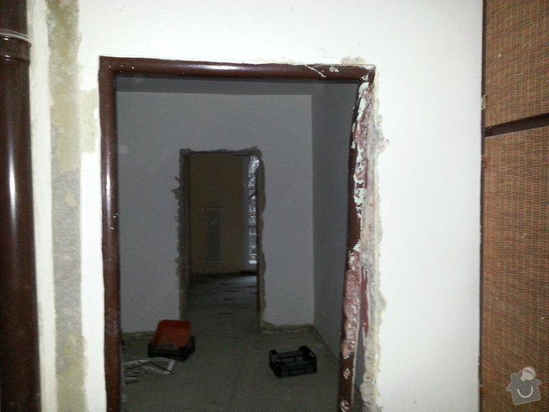 Riznuti zelezobetonove steny v byte: stena