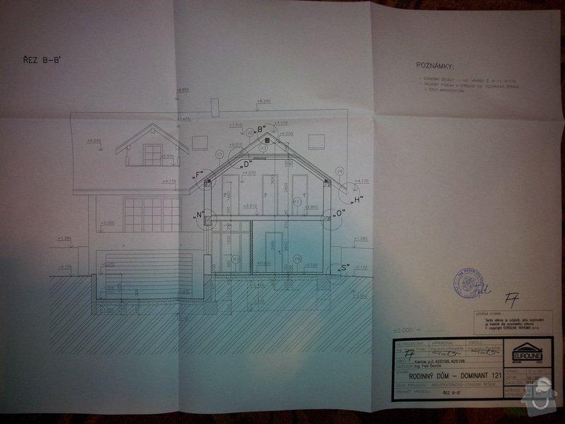 Střecha - Tesařské práce: 20130223_235257