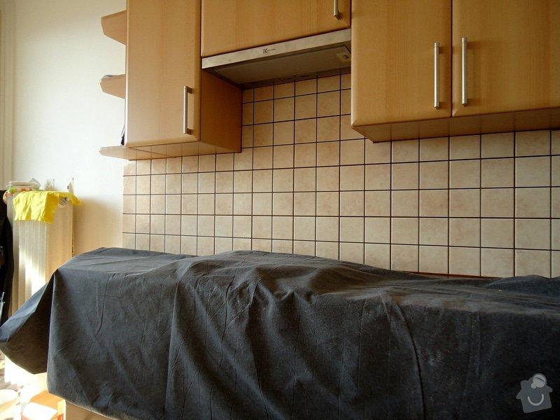 Obklad mezi kuchyňskou  linkou: 04