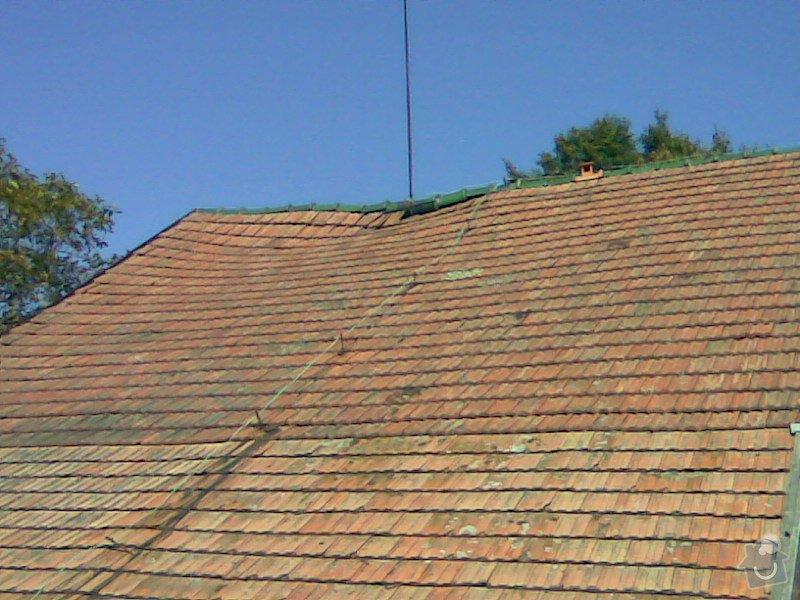 Oprava střechy v Samařově: Samarov_1