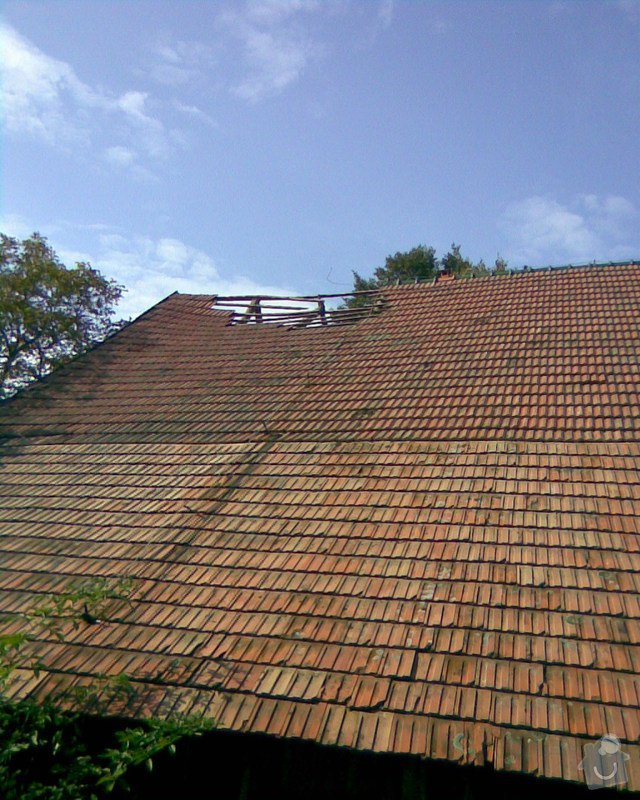Oprava střechy v Samařově: Samarov_2