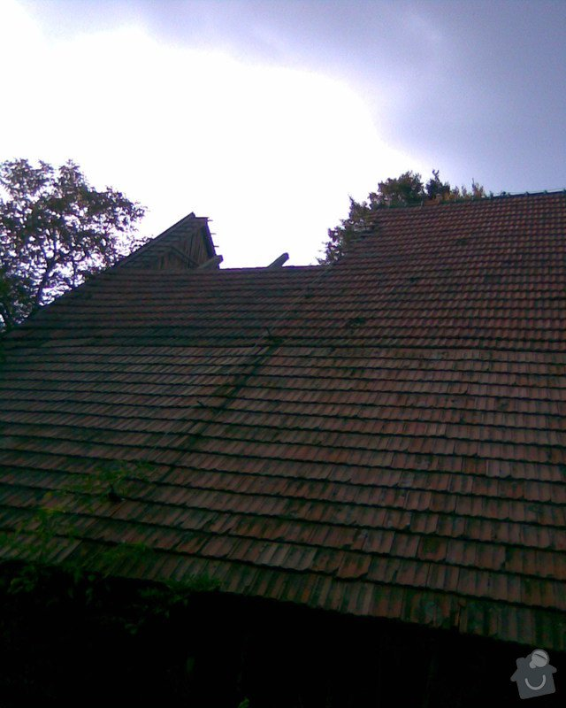 Oprava střechy v Samařově: Samarov_3