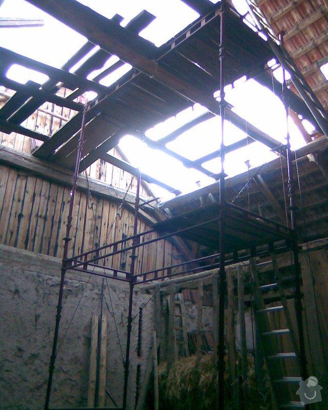 Oprava střechy v Samařově: Samarov_4