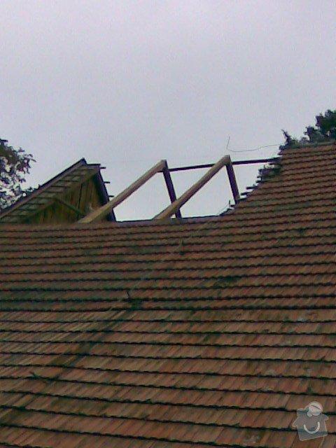 Oprava střechy v Samařově: Samarov_5