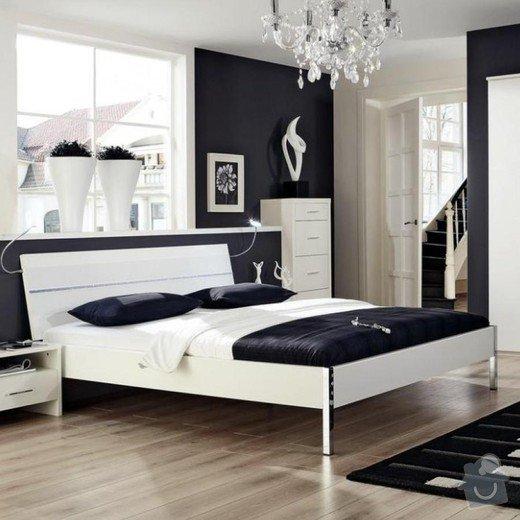 Postel - jednolůžko: postel