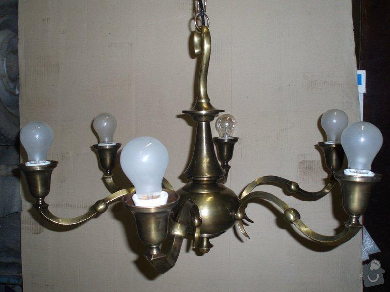 Oprava (zrestaurování) starožitných lustrů: lustr_002