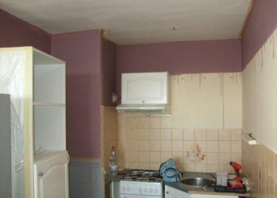 Rekonstrukce kuchyně, obývacího pokoje a ložnice