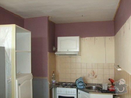 Rekonstrukce kuchyně, obývacího pokoje a ložnice: DSCF2871