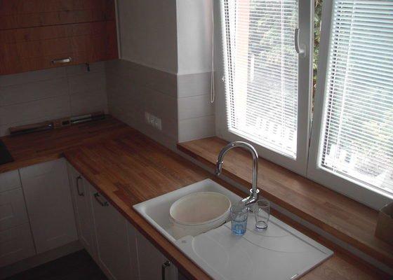 Rekonstrukce bytu + kuchyňská linka
