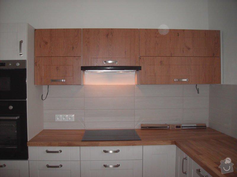 Rekonstrukce bytu + kuchyňská linka: PICT2750