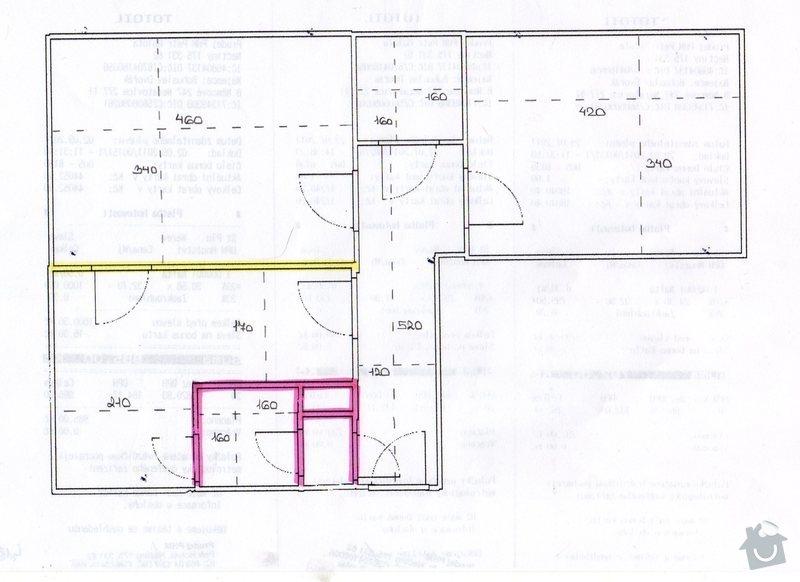 Kompletní rekonstrukce bytu: navrh001
