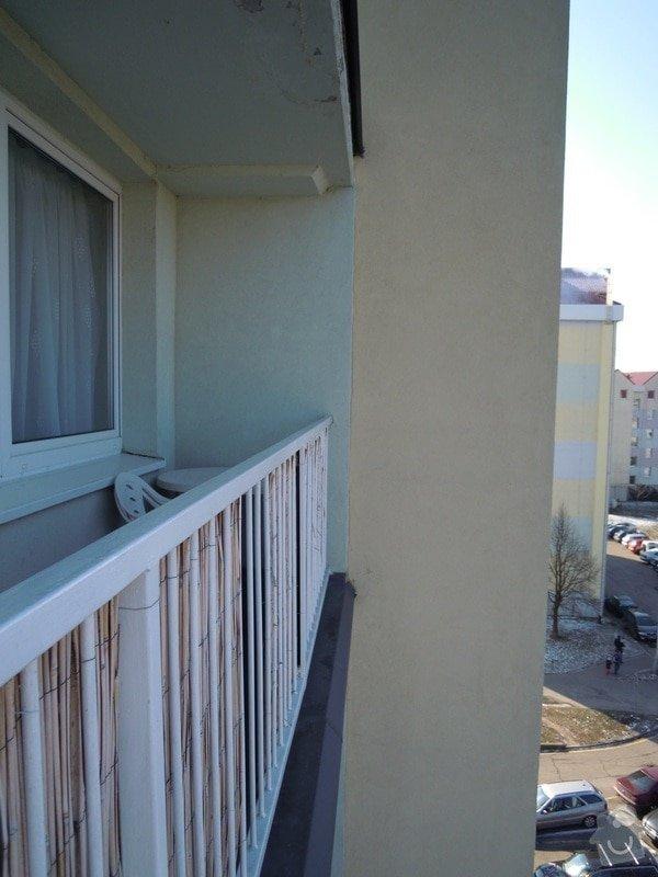 Zasíťování balkónu ochrannou sítí pro bezpečnost koček: DSCN4278