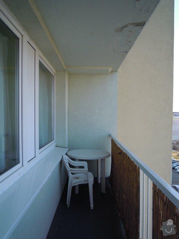 Zasíťování balkónu ochrannou sítí pro bezpečnost koček: DSCN4276