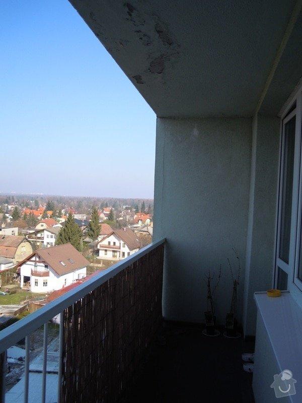 Zasíťování balkónu ochrannou sítí pro bezpečnost koček: DSCN4277