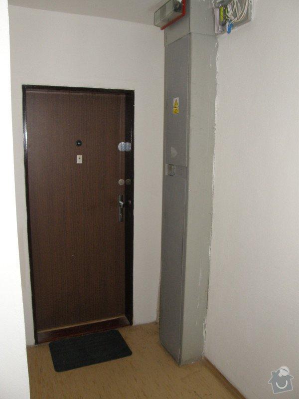 Přístavba chodby v panelovém domě: Chodba_nahled_004