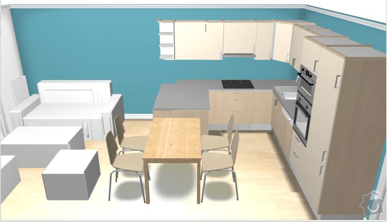 Výroba kuchyňské linky: H12_a
