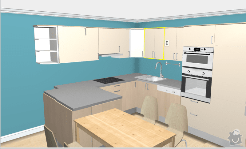 Výroba kuchyňské linky: h12_b