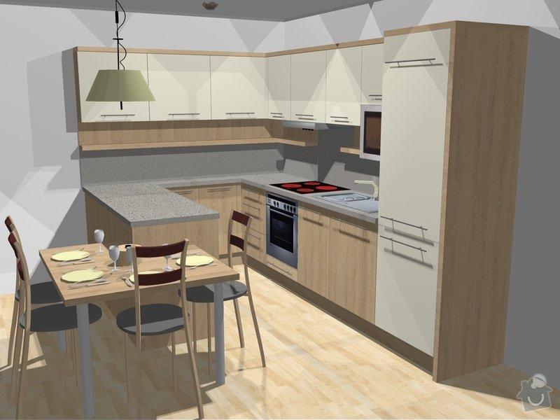 Výroba kuchyňské linky: MB_kuchyn_-_vizualizace_9