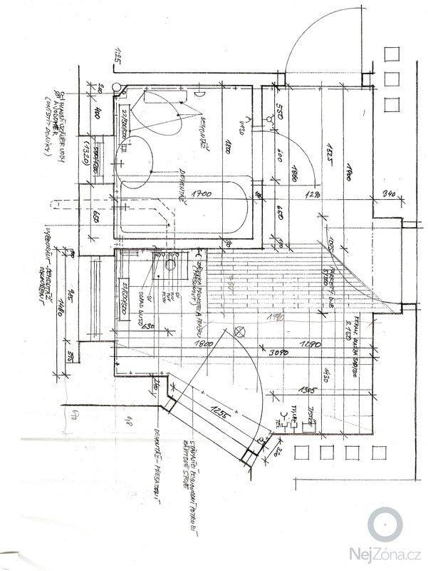 Rekonstrukce koupelny a oddeleni zachodu: K1